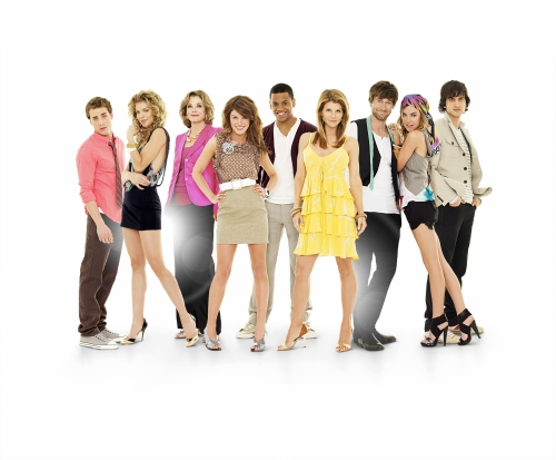 90210 CW Cast Photo