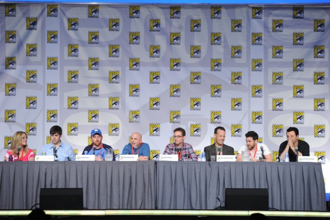 AMERICAN DAD Comic Con Panel Photos