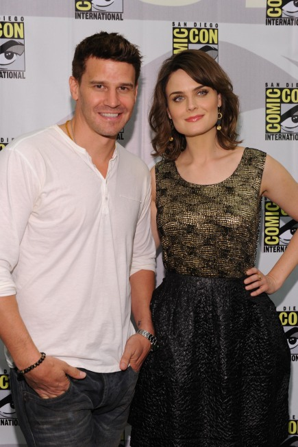 BONES Comic Con Press Room Photos