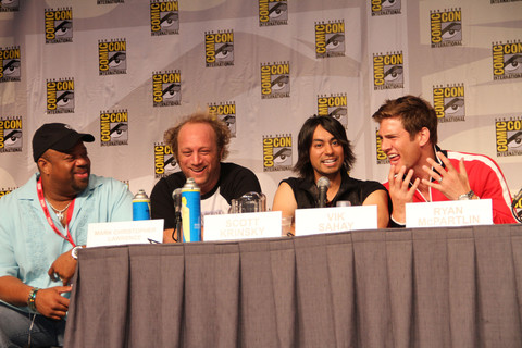 CHUCK Comic Con Panel Photos