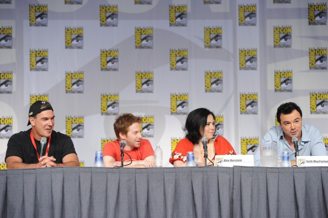 THE FAMILY GUY Comic Con Panel Photos