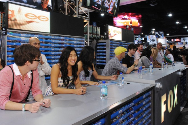 Glee At Comic Con