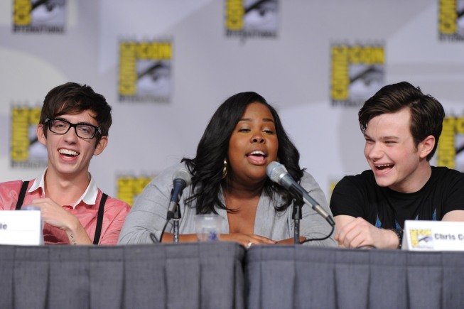 GLEE Comic Con Panel Photos