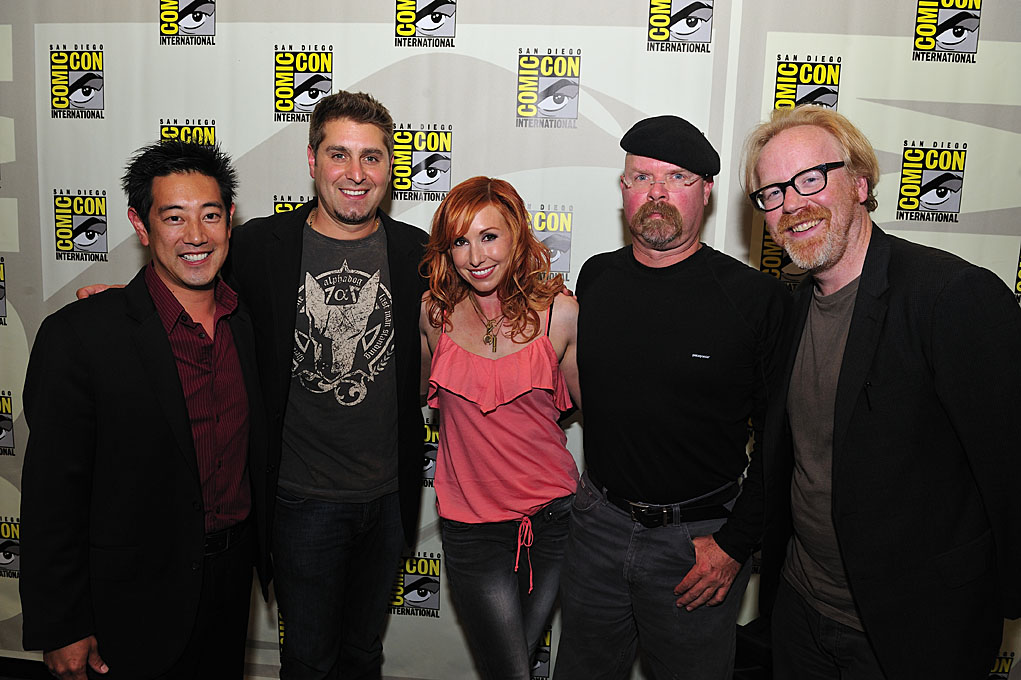 MYTHBUSTERS Comic Con Panel Photos