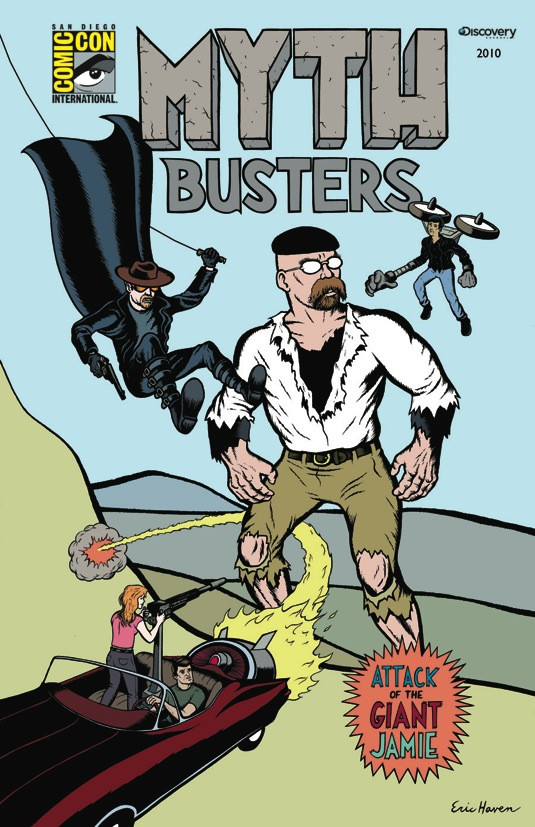 MYTHBUSTERS Comic Con Poster