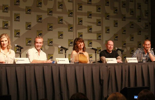 SPARTACUS Comic Con Panel Photos