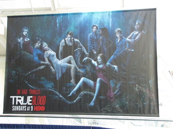 TRUE BLOOD Comic Con Banner