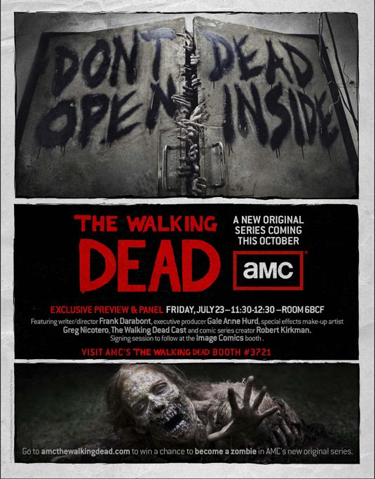 Walking Dead Comic Con Poster