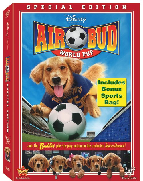 Air Bud World Pup DVD