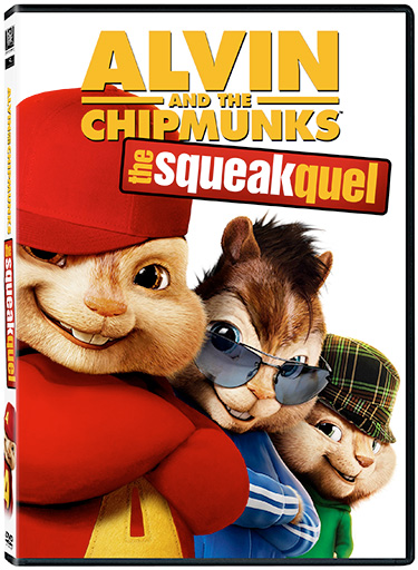 Alvin And The Chipmunks The Squeakquel DVD