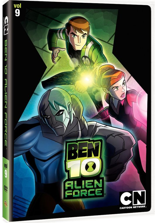 Ben 10 Alien Force Volume 9