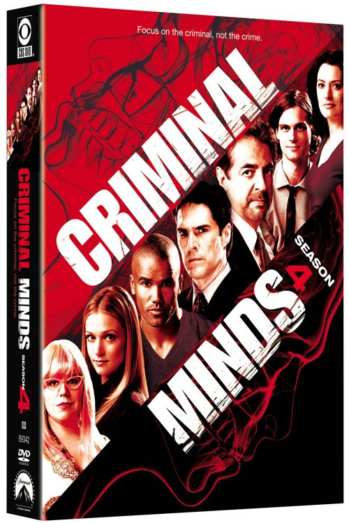 Criminal Minds Season 4 DVD Cover