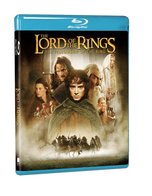 Fellowship Of The Ring Bluray