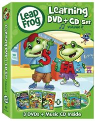 LEAPFROG LEARNING DVD & CD