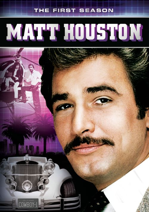 Matt Houston DVD Cover