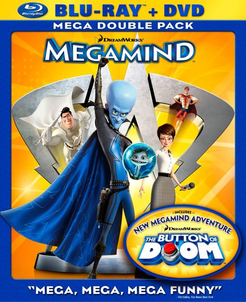 Megamind DVD Bluray