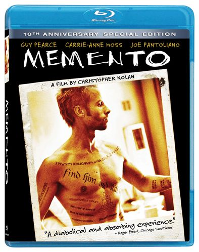 Memento Bluray