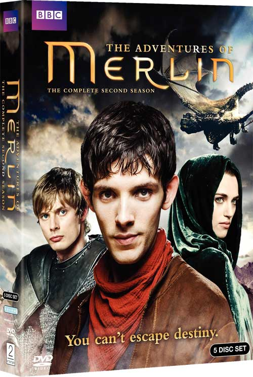 Merlin Season 2 DVD