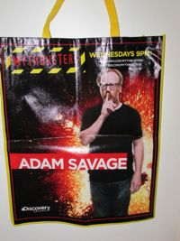 Mythbusters Adam Comic Con Bag