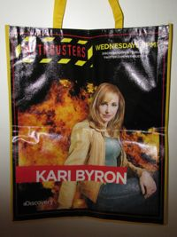 Mythbusters Kari Comic Con Bag