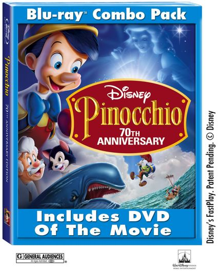 Pinocchio Blu-Ray Disc Contest