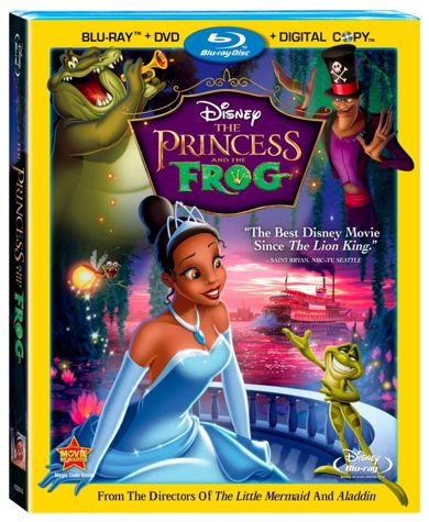 Princess And The Frog DVD Cover