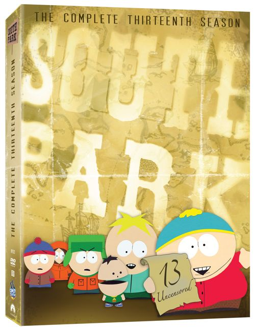 South Park DVD Season 13