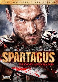 Spartacus Blood And Sand DVD Cover