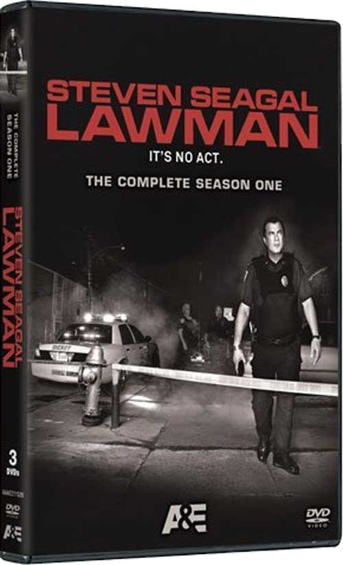 Steven Seagal Lawman DVD