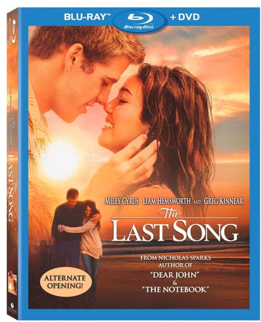 The Last Song Bluray And DVD