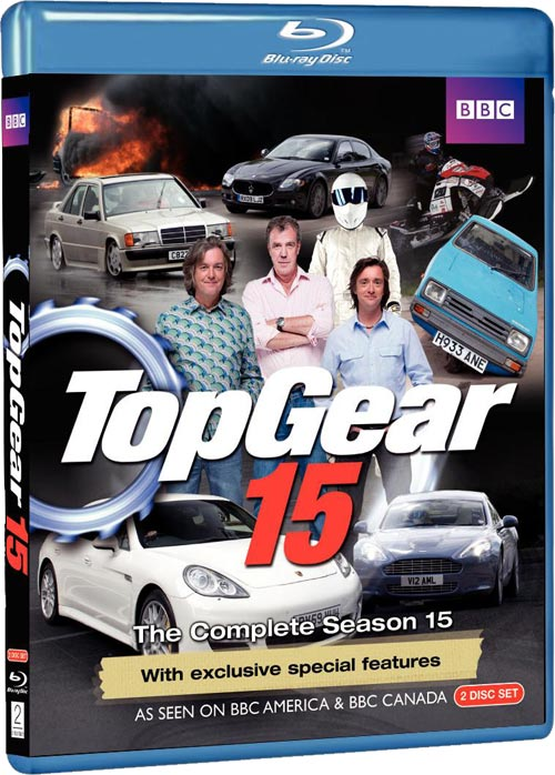 Top Gear Season 15 Bluray