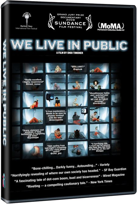 We Live In Public DVD