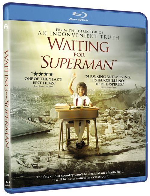 WAITING FOR SUPERMAN BLURAY