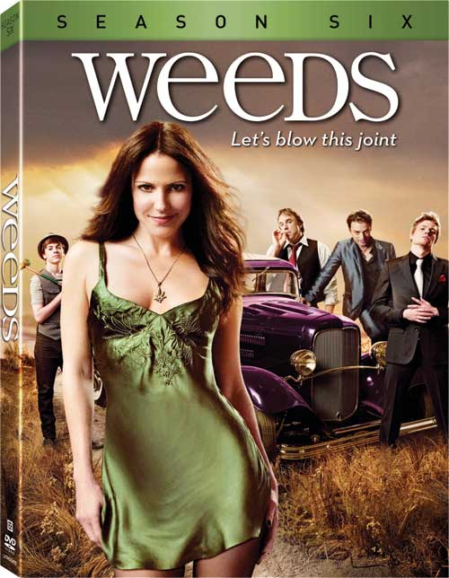 Weeds Season 6 DVD
