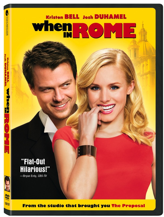 When In Rome DVD Cover