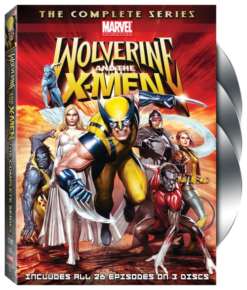 Wolverine And The X-Men Complete Series DVD Contest