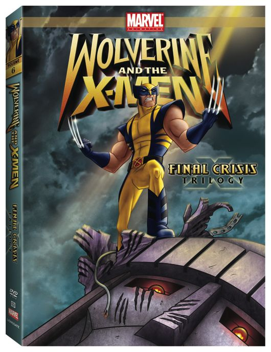 Wolverine And The X-Men Final Crisis Trilogy DVD Contest