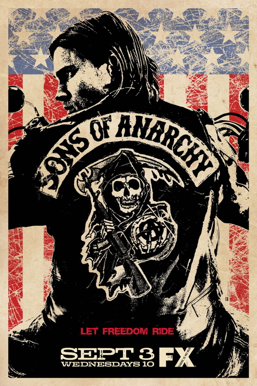Sons of Anarchy Season 1 Promo Poster