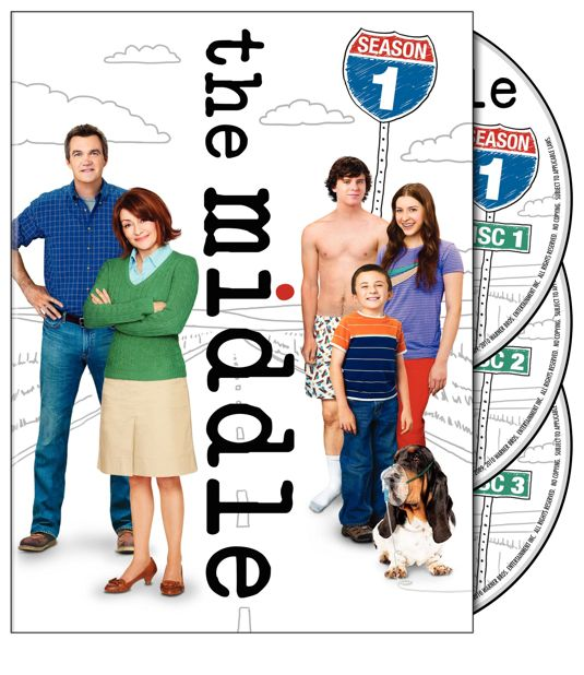 The Middle Season 1 DVD