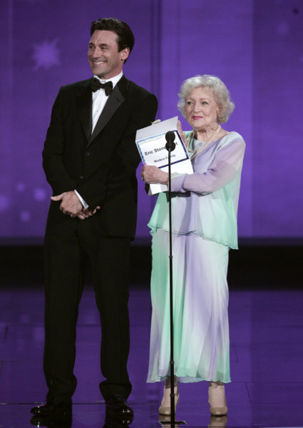 Betty White Jon Hamm Emmys