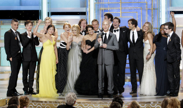 Glee Golden Globes Photo