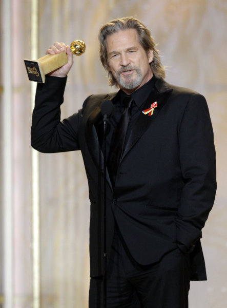 Jeff Bridges Golden Globes Photo