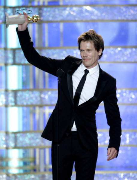 Kevin Bacon Golden Globes Photo