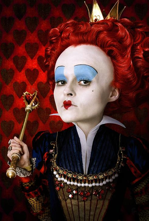 Helena Bonham Carter Red Queen Alice In Wonderland