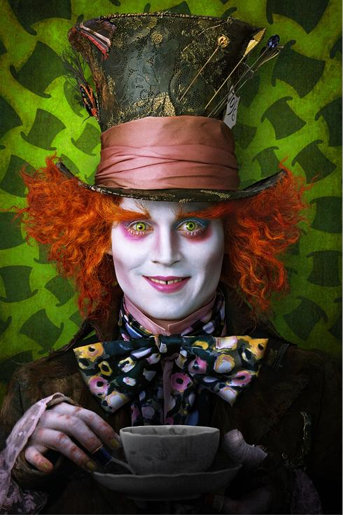 Depp Mad Hatter Alice In Wonderland