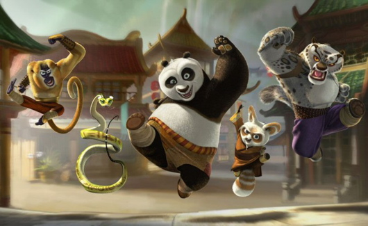 Kung Fu Panda Number 1 - Weekend Box Office Numbers June 8th
