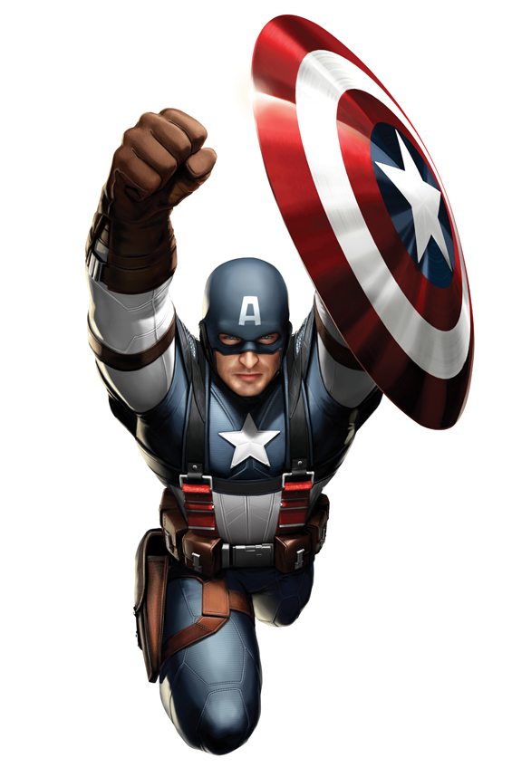 Captain America Movie Costume Concept Art