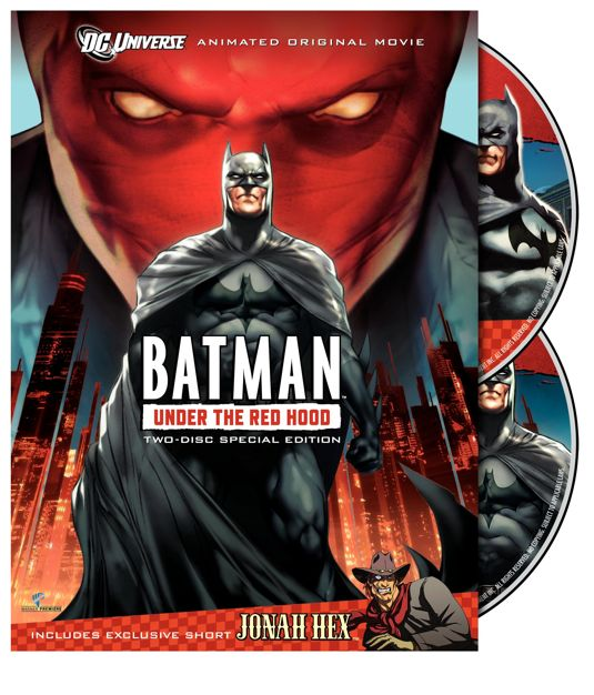 Batman Under The Red Hood DVD Cover