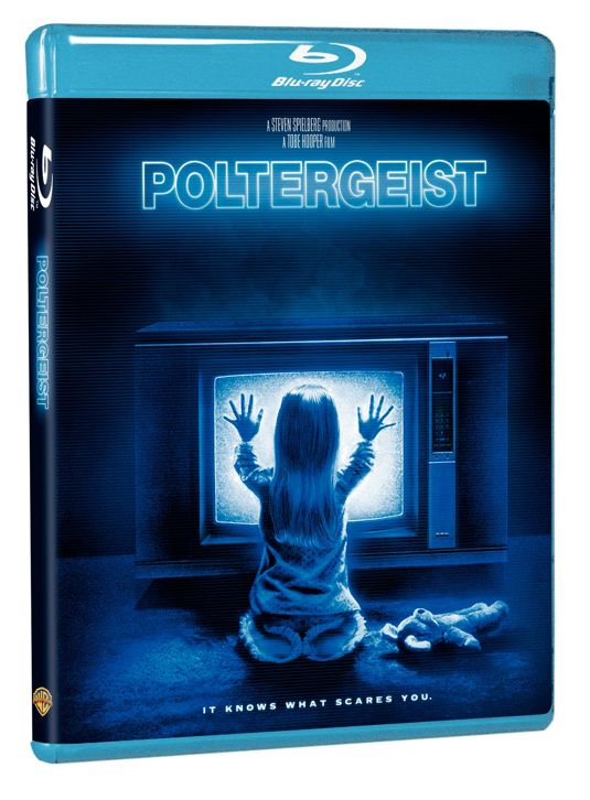 POLTERGEIST Blu-Ray Cover Art