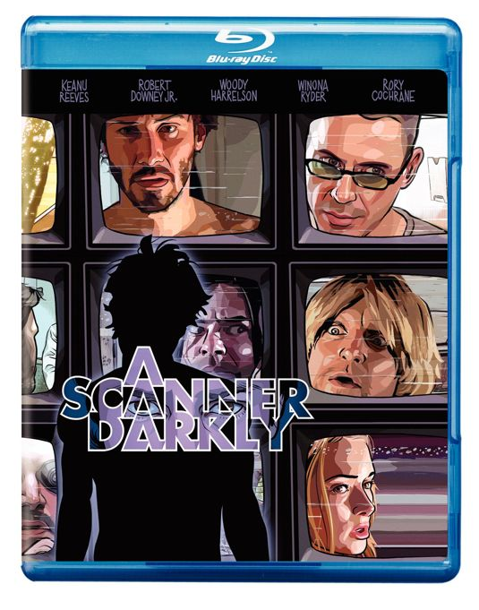 A Scanner Darkly Bluray Cover